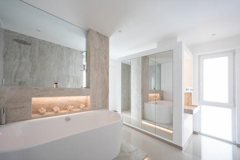 Badezimmer Jauer Natursteine